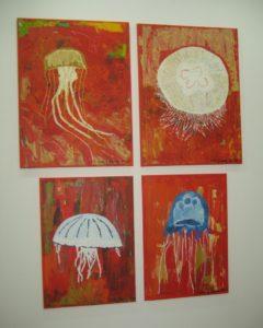 Jelly Fish: Lifeguard, Moon, Crysaora and Box